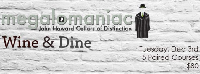 Wine & Dine Carden Nov Megalomaniac FB Timeline
